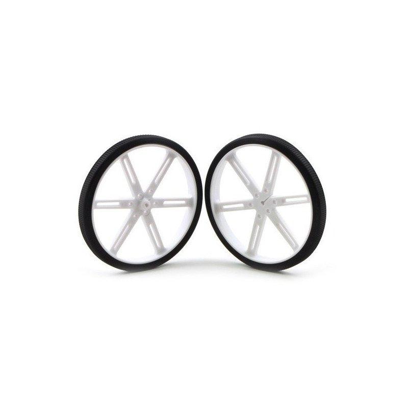 Pololu wheel 90x10mm - white