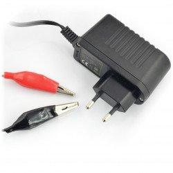 12V / 0.65A gel battery charger