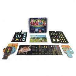 mPuzzle - a set of magnetic elements for learning electronics