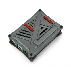 Raspberry Pi 4B - ABS - graphite - LT-4A12