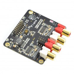 Piano 2.1 HiFi DAC - sound card for Sparky / Raspberry P