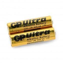 AA (R6 LR6) alkaline GP Ultra Alkaline Industrial battery - 2 pcs.
