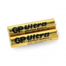 GP Ultra Alkaline AAA (R3 LR03) alkaline battery - 2 pcs.