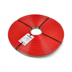 Ribbon cable TLWY - 12x0.50mm²/AWG 20 - multicoloured - 50m