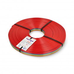 Ribbon cable TLWY - 8x0.75mm²/AWG 18 - multicoloured - 25m