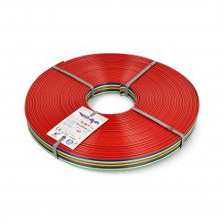 Ribbon cable TLWY - 12x0.75mm²/AWG 18 - multicoloured - 25m