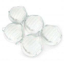 Vorel disposable filter half mask 74540 FFP1/K - 5 pcs.