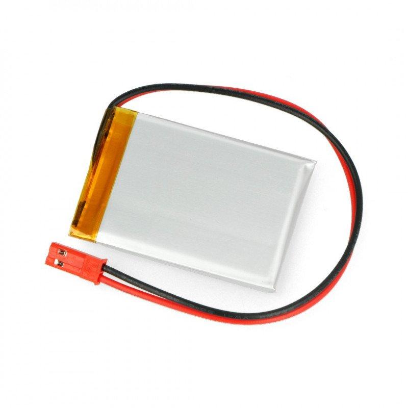 Li-Pol Akyga 680mAh 1S 3.7V Li-Pol Akyga battery - JST-BEC connector + socket