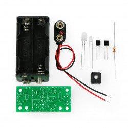 Twilight sensor construction kit with LED