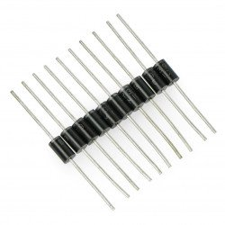 Rectifier diode BY399 3A / 800V - 10 pieces.