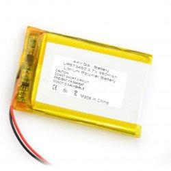 Li-Pol Akyga 980mAh 1S 3.7V Li-Pol Akyga battery