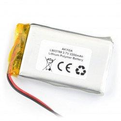 Battery Li-Pol Akyga 2200mAh 1S 3.7V