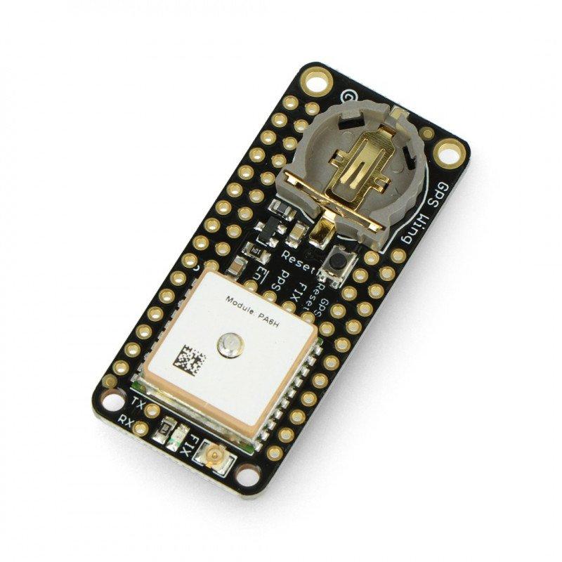 FeatherWing Adafruit Ultimate GPS - GPS antenna module with MTK3339