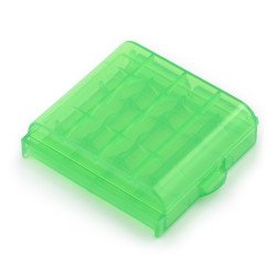 4 AA or AAA batteries container
