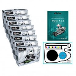 The set of programming lab - Abilix Krypton 4 + mat + lesson plans - for 16 students