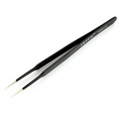 Vetus ESD14 straight antimagnetic tweezers - 120 mm
