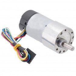 Geared motor 37Dx68L 19:1 + CPR 64 encoder
