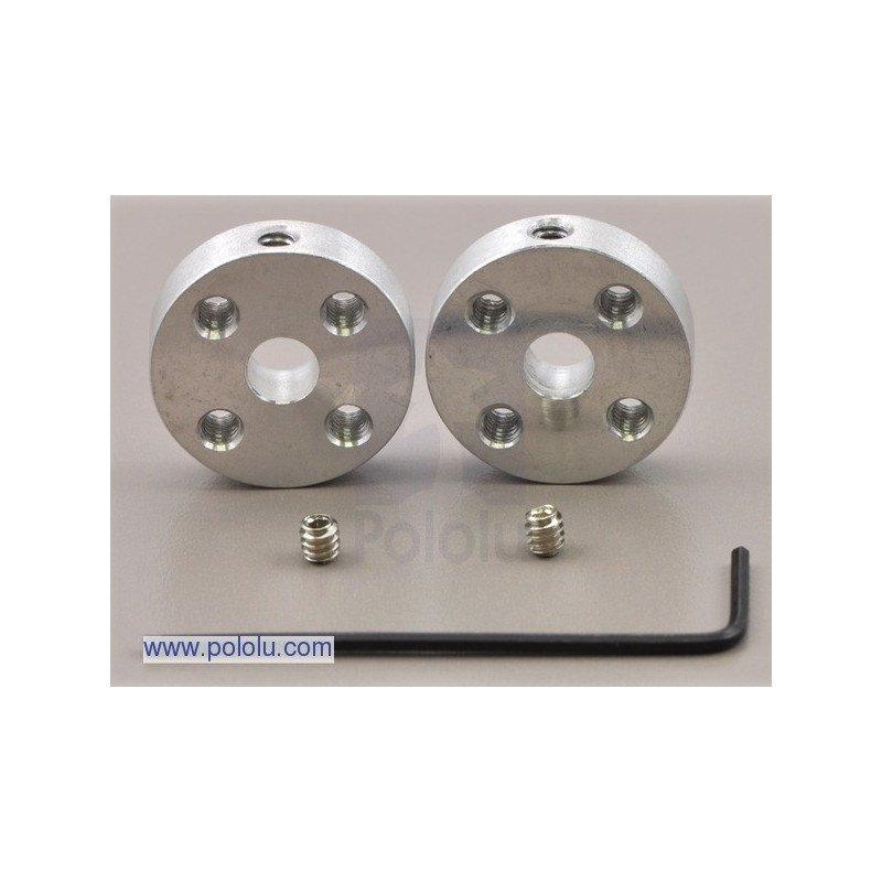 Aluminium 5mm mounting hub