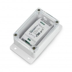 Sonoff hermetic enclosure IP66 - 132.2x68.7x50.1mm