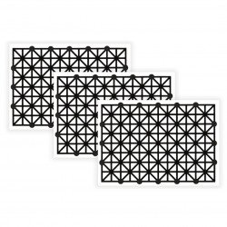 Bare Conductive Printed Sensor - paper touch sensors - 3 pieces.