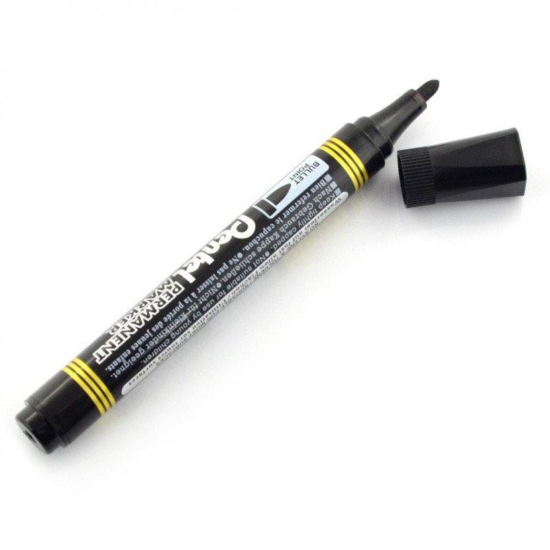 Black permanent marker - Pentel N850