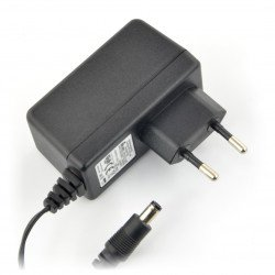 Switch mode power supply 12V / 1.25A - 5.5 / 2.5 mm DC plug