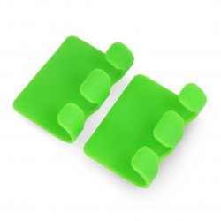 Cable organizer Blow - charger handle green - 2pcs.