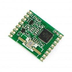 Radio module - RFM69HW-433S 433MHz - SMD transceiver