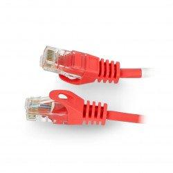 Lanberg Ethernet Patchcord UTP 5e 30m - red