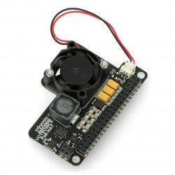 UCTRONICS Mini PoE Hat - PoE power module for Raspberry Pi 4B/3B+/3B + fan