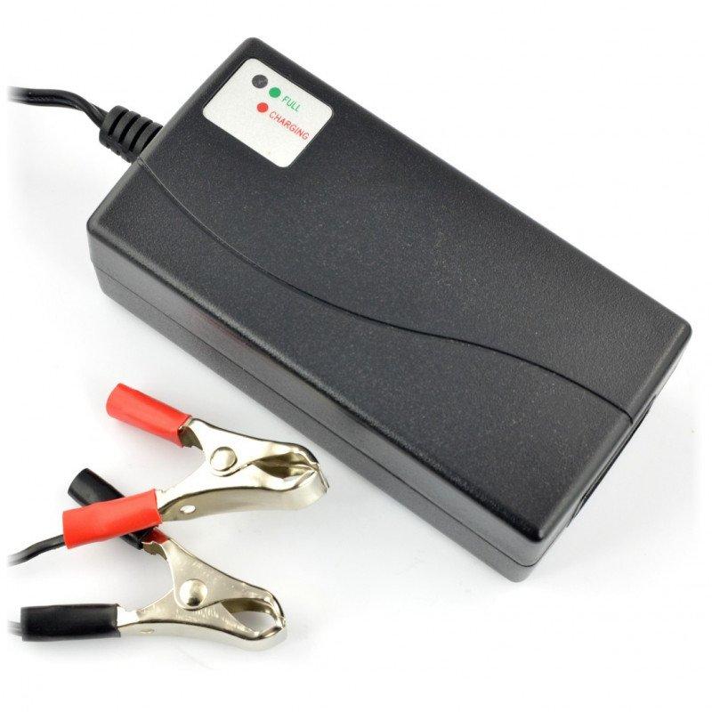 12V / 0.8A / 7-14Ah gel battery charger