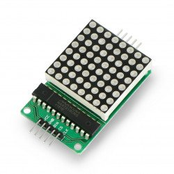 LED matrix 8x8 + MAX7219...
