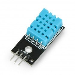 Temperature and humidity sensor DHT11 - module + wires