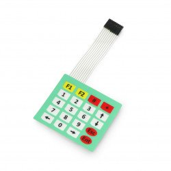 Membrane Switch Keypad 4x5 Key