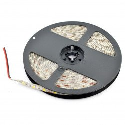 Strip LED SMD5050 IP65 14,4W, 60 LED/m, 10mm, warm white - 5m