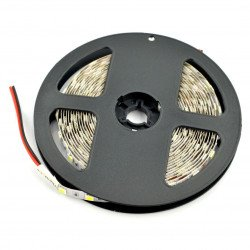 Strip LED SMD5050 IP44 14,4W, 60 LED/m, 10mm, natural white - 5m