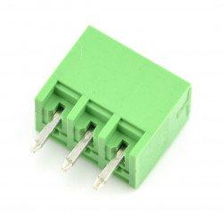 Assembly bar male 3-pin, raster 3,5mm, vertical