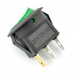 Switch IRS-101-8C/D 12VDC/20A  - green