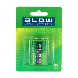 BLOW SUPER HEAVY DUTY battery 9V6F22 blister