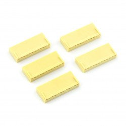 2,54 mm - socket 12-pin - 5 pcs