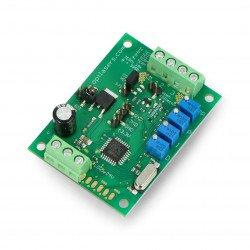 Programmable temperature controller - TEC-8A-24V-PID-HC-RS232