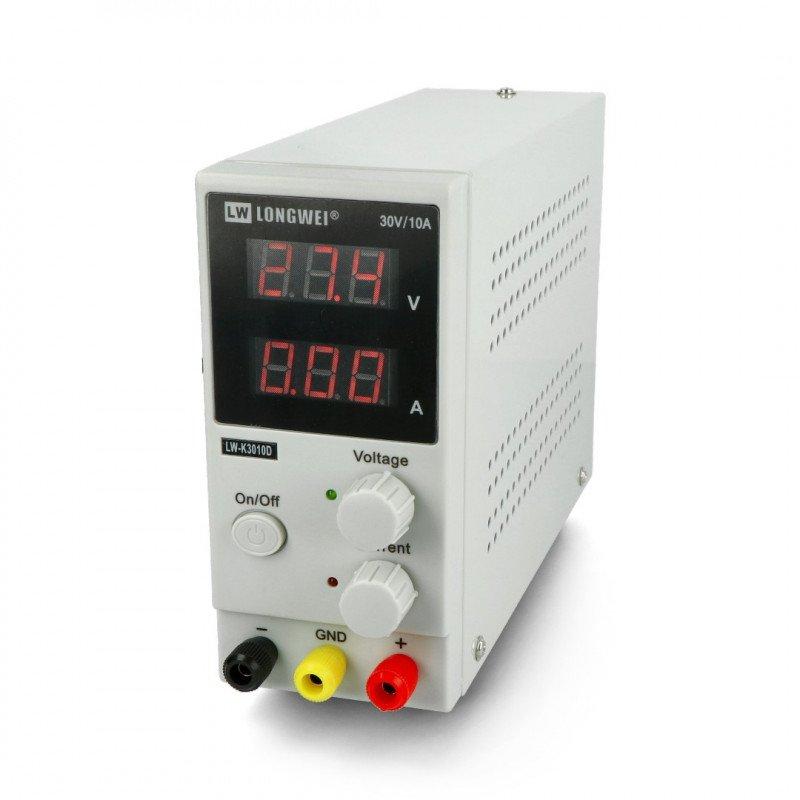 LongWei LWK3010D 30V 10A laboratory power supply unit