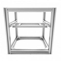 Hypercube Evolution 3D printer frame - folded
