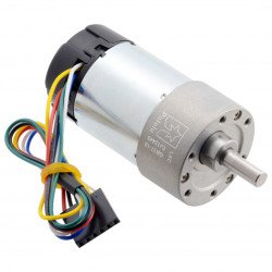 Geared motor 10:1 37Dx65L 24V 1000RPM + CPR 64 encoder - Polol 4699