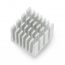 Aluminum Heat Sink for Raspberry Pi 3 - 15x15x15mm high_