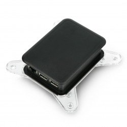 VESA mount case for TEKO Raspberry cases - transparent_