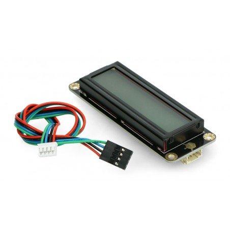 DFRobot Gravity - 2x16 I2C LCD display - green