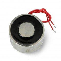 Electromagnet holding 12V 10W 70kgf