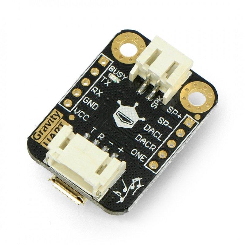 DFRobot Gravity - MP3 player - UART