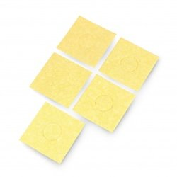 Blade cleaning sponge - square